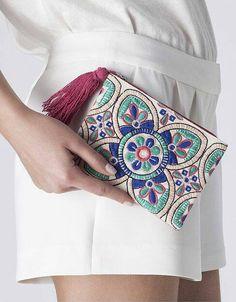Hermosa tendencia en bolsos de mano bordados (15) - Curso de Organizacion del hogar