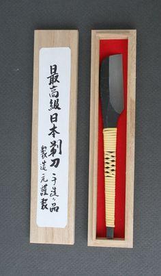 Kanetake Straight Razor - wrapped handle - Made by fourth generation blacksmith, Mr. Norikazu Takahashi.