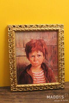 Portret Huilend jongetje