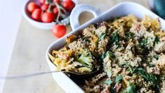 Vegan Pasta, Ciabatta, Pasta Dishes, Pasta Salad, Pesto, Potato Salad, Spaghetti, Chicken, Baking