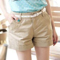 Buy 'Tokyo Fashion – Belted Cuffed Shorts' with Free International Shipping at YesStyle.com. Browse and shop for thousands of Asian fashion items from Taiwan and more!