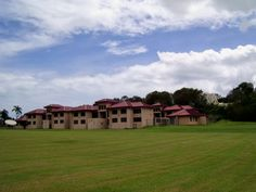 Dorms at University of the Virgin Islands. Study Abroad 2008