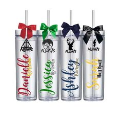 Custom Harry Potter Tumbler Cups, Bride, Bridesmaid Gift, Bridal Party Girl, Personalized Hogwarts Cup