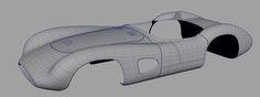 WIP - Aston Martin DBR1 on Behance