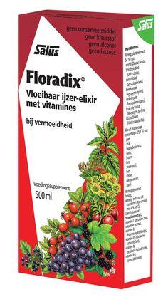 Salus Floradix IJzerelixer (voorheen Vita Kruidenelixer) 500 ml - Floradix IJzerelixer (voorheen Vita Kruidenelixer) is een vloeibaar ijzersupplement aangevuld met groente-extracten en vruchtenconcentraten. Floradix bevat een goed opneembare en goed verteerbare vorm van ijzer en biedt ook belangrijke voedingsstoffen zoals B-vitaminen. Het ijzer draagt bij aan de vermindering van vermoeidheid. De vitaminen B1, B2, B6 en B12 ondersteunen de energie de stofwisseling en de vitamine C bevordert…