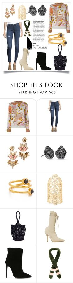 """""""Fashion for all"""" by kristeen9 ❤ liked on Polyvore featuring Prada, Hudson, Deepa Gurnani, Kendra Scott, Lizzie Fortunato, Alexander Wang, Yeezy by Kanye West, Gianni Renzi and Shrimps"""