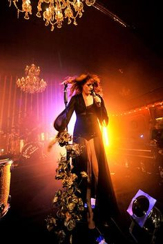 Florence And The Machine Perform At Launch Party For The Album 'Lungs'