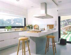 Decoração de Cozinhas - Mesas - http://www.dicasdecoracao.com/decoracao-de-cozinhas-mesas/