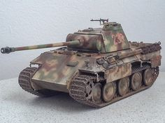 Panther, Modeling Techniques, Model Tanks, Weapons Guns, Model Kits, World War Ii, Scale Models, Military Vehicles, Camouflage