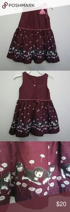 Formal Dress Infant 18m Little Golden Books Moments 18m Infant/Toddler Formal Dress. Beautiful Deep Maroon Color. Excellent Used Condition. No rips/stains/tears. Worn to a fabulous wedding. Little Golden Book Moments Dresses Formal