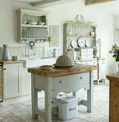 Wie wil er niet zo'n ruime, mooie keuken? blijmaakzooi.blogspot.nl