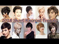 2018 Short Haircut Trends for Women - YouTube