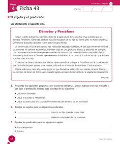 Cuaderno Actividades Lenguaje 4º Spanish Worksheets, Spanish Class, Fails, Writer, Language, Teacher, Education, Reading Comprehension, Reading Comprehension