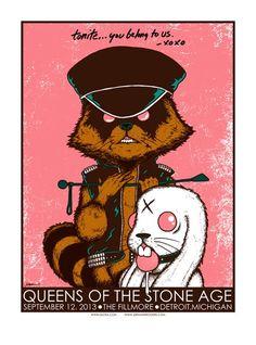 Bildergebnis für rock poster art