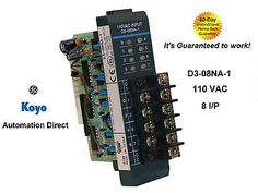 Automation-Direct-D3-08NA-1-110VAC-INPUT-Module-Its-guaranteed-to-work