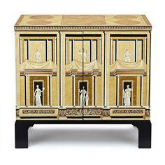 A Fornasetti Pompeian Cabinet,… - Fine Decorative Arts & Jewellery - Sotheby's Australia - Antiques Reporter