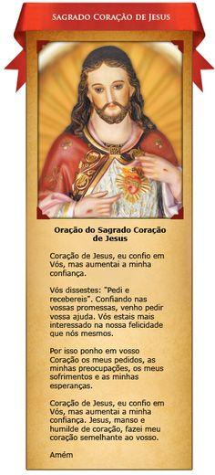 Oração ao Sagrado Coração de Jesus
