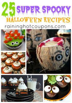 25 Halloween Recipes - Raining Hot Coupons