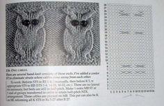 Famosa esta coruja e todo mundo sempre me pedem muito. Beijos..Sandra Hot Pads, Knots, Owl, Album, Bird, Knitting, Crochet, Patterns, Ideas