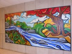 Image result for collaborative school painting