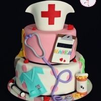 Everything Nurse Cake