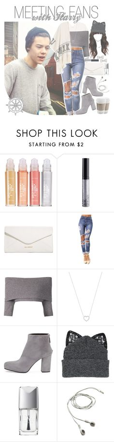 """""""meeting fans with harry"""" by fangirlsets ❤ liked on Polyvore featuring Avon, NYX, Vera Bradley, Dorothee Schumacher, Tiffany & Co., Prada, Silver Spoon Attire, Christian Dior and Marc by Marc Jacobs"""