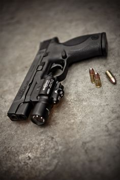 Smith and Wesson M and P Pro Series #pistols #guns