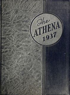 Athena Yearbook, 1937. Click through to see the entire yearbook. :: Ohio University Archives