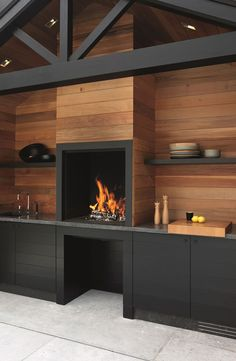 """Check out our web site for more details on """"outdoor kitchen designs layout patio"""". It is an exceptional spot to find out more. Outdoor Kitchen Countertops, Concrete Countertops, Outdoor Kitchen Design, Kitchen Decor, Kitchen Ideas, Kitchen Storage, Parrilla Interior, Wood Fired Oven, Storage Design"""