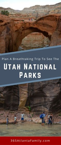 Plan a breathtaking trip to see the Utah National Parks. The breathtaking Utah landscape just shouts to be climbed on, hiked through and explored! Come see what to do at each of the amazing Utah National Parks and one State Park not to miss.