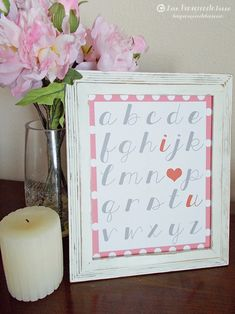 Super cute {FREE} Valentine's printables!  Love! @ Love Pomegranate House