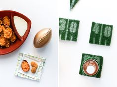 Need an easy idea for sprucing up your tailgate or game day gathering? Look no further with these DIY Football AstroTurf Coasters.