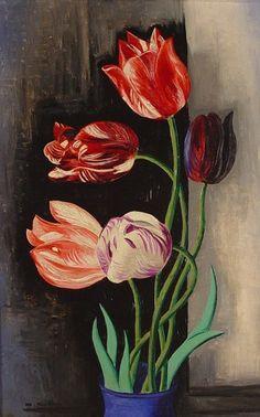 Moise Kisling- Tulips