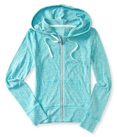 Aeropostale Lightweight Core Full-Zip Hoodie Found on my new favorite app Dote Shopping #DoteApp #Shopping