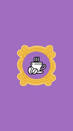 Capas para destaques Instagram Friends - Café #friends #destaquesinstagram #instagramhighlights #instagramcover #highlightcover Blog Bebe, Anne With An E, Instagram Templates, Instagram Highlight Icons, Friends, Highlights, Stickers, Tv, Shop Logo