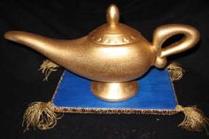 Aladdin magic lamp cake! We should of done this of the cast cake party