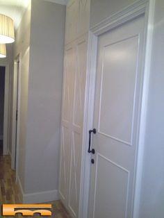 armario zapatero Puerta con aspas lacado ISL Barcelona