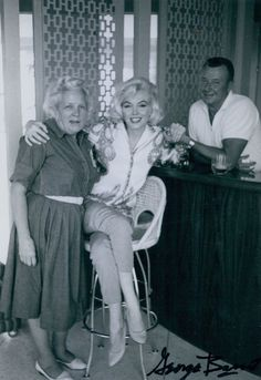 Marilyn and Her Team
