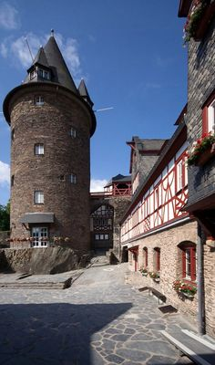 Burg Stahleck - Bacharach, Rhineland-Palatinate, Germany | by Wmr Wolfgang Müller - Klassenfahrt 1991