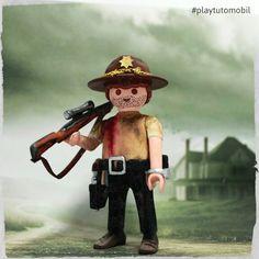 Playmobil Rick Grims - #thewalkingdead #playmobil #playtutomobil #rickgrimes