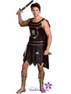 fantasias de carnaval masculina gladiador