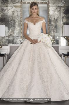 romona keveza fall 2017 bridal gown