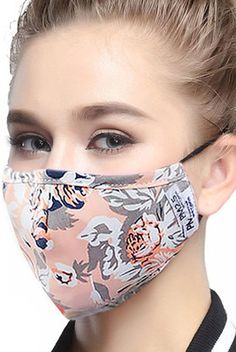 0291d697c85 ZWZCYZ Masks Dust Mask Anti Pollution Mask PM2.5 4 Layer Activated Carbon  Filter Insert Can Be Washed Reusable Masks Cotton Mouth Mask for Men Women  ...