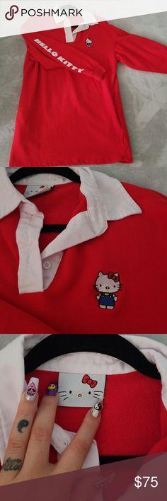 LAZY OAF Hello kitty rugby dress Worn 3x, washed 1x. It's size small/medium Lazy Oaf Dresses Midi