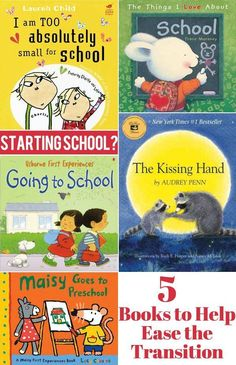 Have a little one heading off to school for the first time? This is a great little collection of books about what to expect when starting school