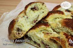 Treccia pancetta funghi scamorza affumicata ricetta di pan brioche dai sapori agrodolci da provare se amate i sapori intensi della scamorza e pancetta