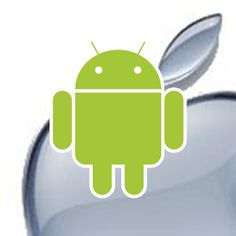 will apple beat android?? an apple with a part missing is the apple from eve i believe, the apple of evil...
