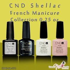 CND Shellac base and top coats