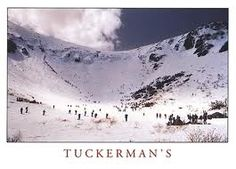 Tuckerman's Ravine, NH... hiked it while climing Mt Washington a long time ago