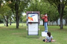 A Giant Flipbook Machine for the Kanazawa Citizen's Art Center | The Kid Should See This